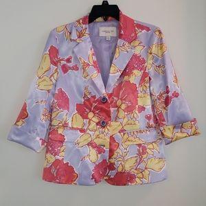 Madison Hill New York floral blazer